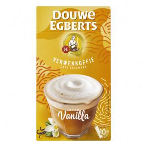 Latte Vanilla Oploskoffie 10 stuks