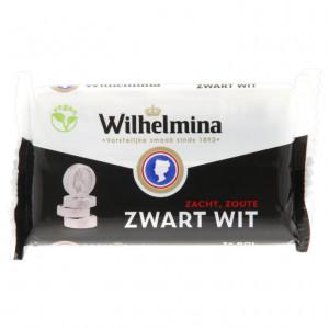 Wilhelmina ZwartWit 3 rolletjes 120 gram - vegan