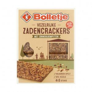 Vezelrijk zadencrackers zonnebloempitten 265 gram